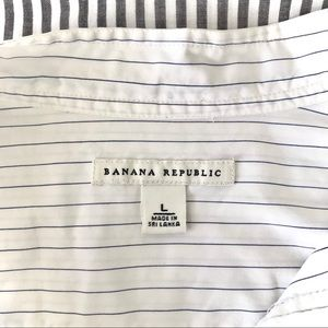 Banana Republic Pinstripe Shirt